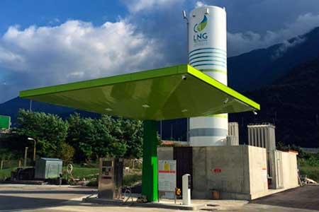 HAM Italia progetta, costruisce e avvia una stazione di servizio di gas naturale liquefatto (GNL) e gas naturale compresso (CNG) per Grup Maganetti